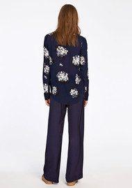 SAMSOE & SAMSOE Milly Shirt AOP - Florasion Bleu