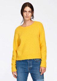 SAMSOE & SAMSOE Nor o-n Short Sweater - Golden Mel