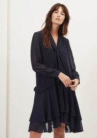 Great Plains Tatiana Dress - Classic Navy