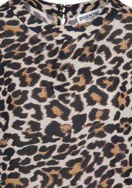 Essentiel Oakus Leopard Top - Monks Robe