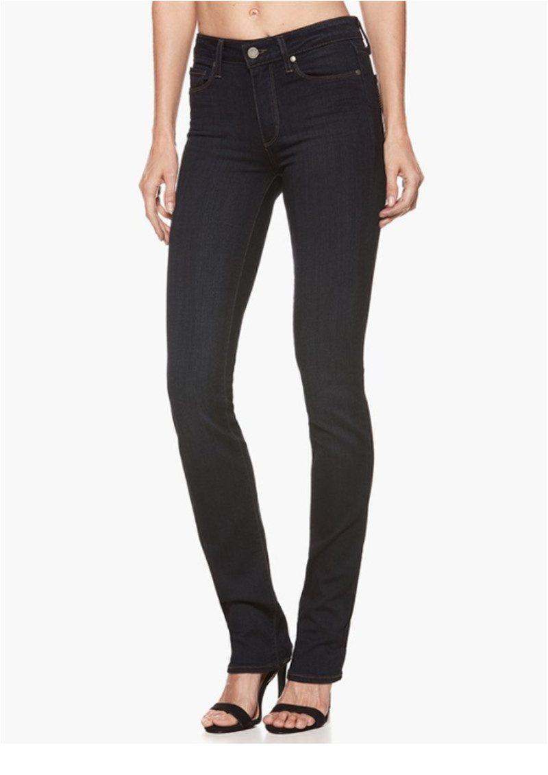 Paige Denim Hoxton Straight Leg Jeans - Mona main image