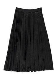 Essentiel Oncing Pleated Jersey Skirt - Black