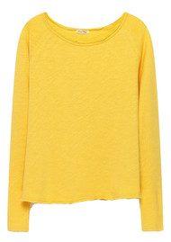 American Vintage Sonoma Long Sleeve Tee - Pollen