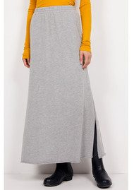 American Vintage Toubobeach Long Skirt - Heather  Grey