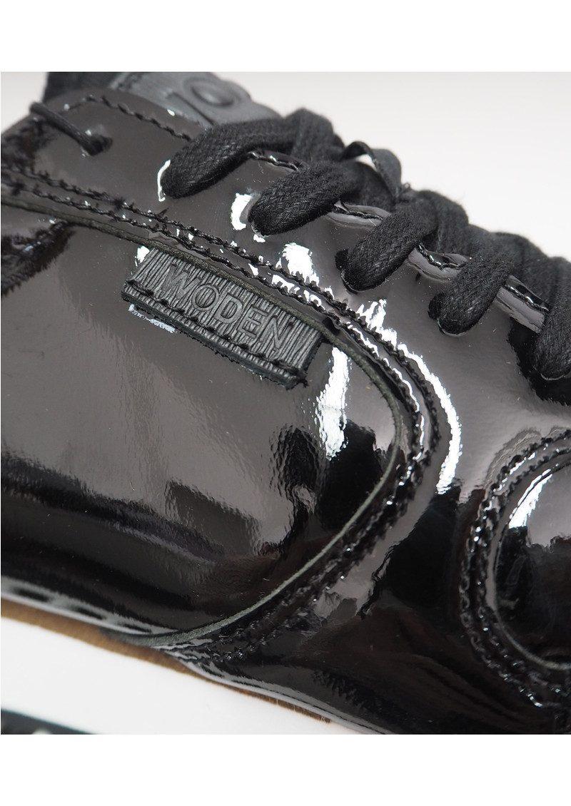 WODEN Ydun II Patent Trainers - Black main image