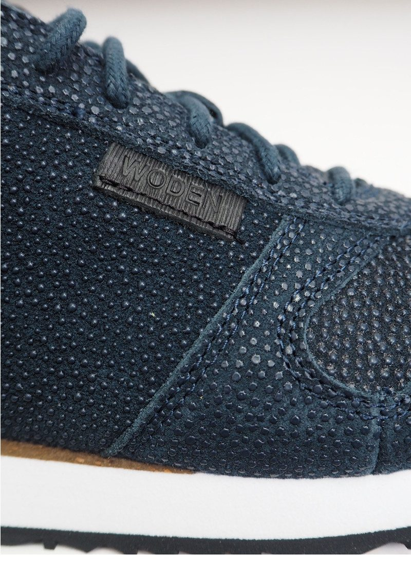 WODEN Ydun Pearl Trainers - Navy main image