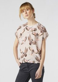 Twist and Tango Mandy Blouse - Pink Free Birds