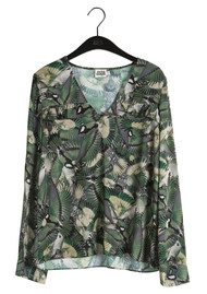 Twist and Tango Nellie Printed Blouse - Forest Birds