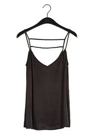 Twist and Tango Sia Slip Top - Black