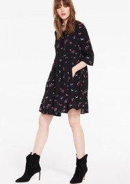 Hale Bob Bunkie Dress - Black