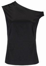 AHLVAR Chika Silk Top - Black