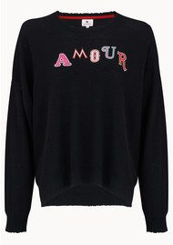 SUNDRY Amour Jumper - Black