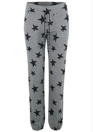 SUNDRY Stars Active Sweatpants - Heather Grey