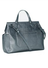 Liebeskind Idaho Leather Bag - Rock Grey