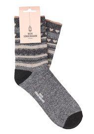 Becksondergaard Duca Hearts Socks - Black