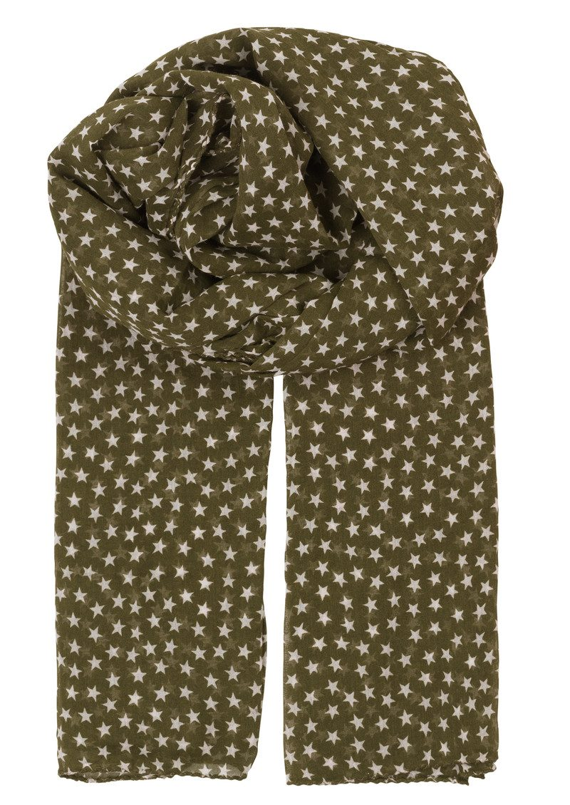 Fine Summer Star Scarf - Army main image