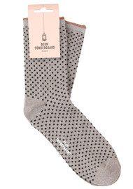 Becksondergaard Dina Small Dots Socks - Opal Grey