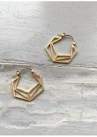 PERNILLE CORYDON Icon Earrings - Gold