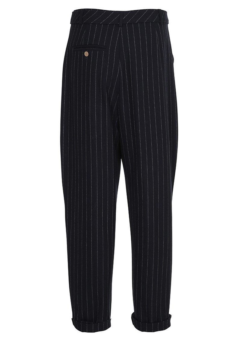 CUSTOMMADE Zoey Pinstripe Trousers = Night Sky main image