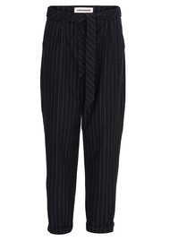 CUSTOMMADE Zoey Pinstripe Trousers = Night Sky