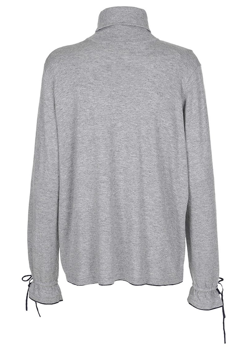 CUSTOMMADE Hasel Pullover - Grey Melange main image