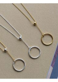 PERNILLE CORYDON Corona Two Tone Necklace - Gold & Silver