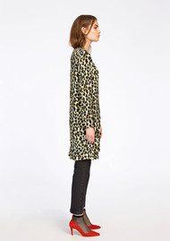 SAMSOE & SAMSOE Marcie AOP Dress - Leopard Jaune