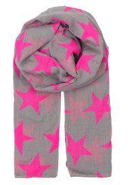 Becksondergaard Fine Twilight Scarf - Intense Pink