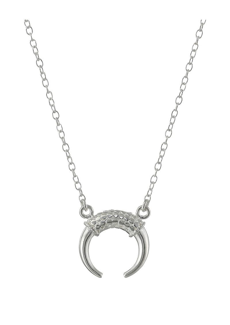 ANNA BECK Horn Necklace - Silver main image