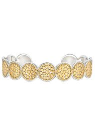 ANNA BECK Multi Disc Cuff Bracelet - Gold