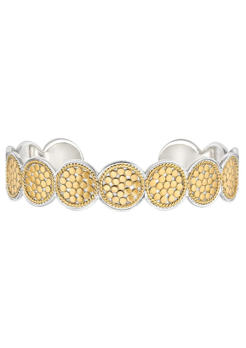 ANNA BECK Multi Disc Cuff Bracelet - Gold main image