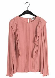 Twist and Tango Daphne Blouse - Dusty Rose