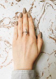 Olivia Burton 3D Bee Ring - Silver