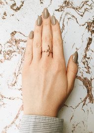 Olivia Burton 3D Bee Ring - Rose Gold