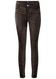 Paige Denim Hoxton Velvet Skinny Jeans - Vintage Deep Juniper