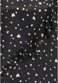 Essentiel Oki Long Sleeve Frill Top - Combo 2 Black