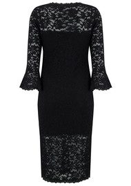 Rosemunde Lace Dress - Black