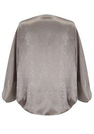 NOOKI EXCLUSIVE Constellation Silk Cape - Grey
