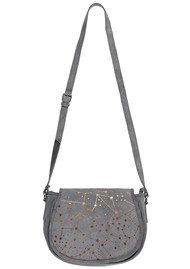 NOOKI Constellation Suede Satchel Bag - Grey