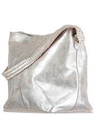 NOOKI Marlene Leather Bag - Silver