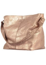 NOOKI Marlene Leather Bag - Rose Gold