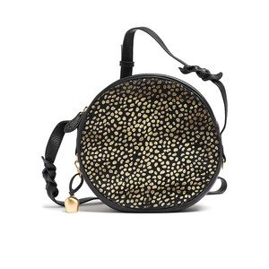 Canteen Pony Bag - Black & Gold