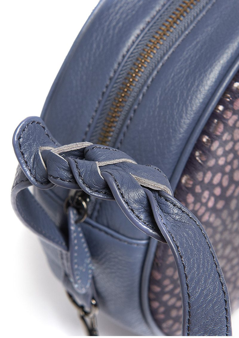 BELL & FOX Canteen Pony Bag - Blue Slate & Gunmetal main image