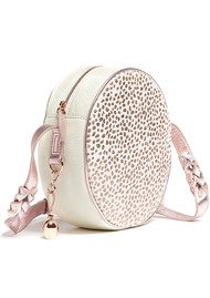 BELL & FOX Canteen Pony Bag - White & Rose Gold