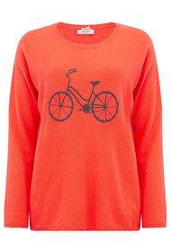 COCOA CASHMERE Cycle Cashmere Jumper - Chilli & Ash