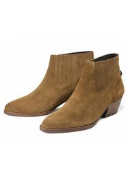 Hudson London Ernest Suede Boots - Tan