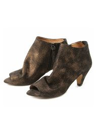 Hudson London Goa Suede Boots - Bronze