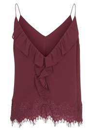CUSTOMMADE Karline Lace Camisole - Nocturne Plum