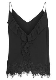 CUSTOMMADE Karline Lace Camisole - Anthracite Black