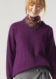 Twist and Tango Jenna Sweater - Purple